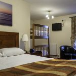 The Elphinstone Hotel in Lanarkshire is a traditional coaching inn which is perfect for a cosy night in Scotland.