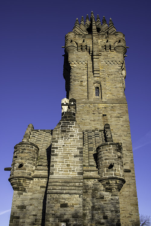 The National Wallace Monument near Stirling, Scotland