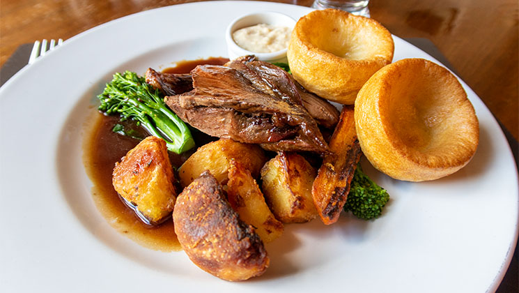 A delicious Sunday lunch was the perfect end to our stay at the Kirkstyle Inn.