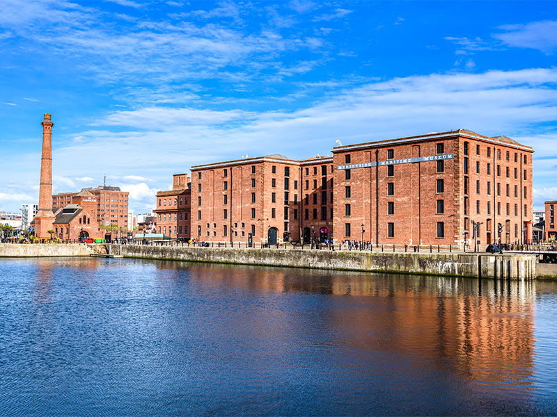 The Merseyside Maritime Museum in Liverpool, UK
