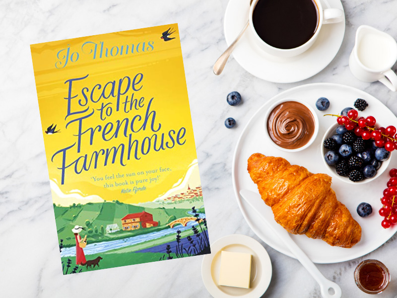 Follow newly-single Del as she embraces life in Provence in this fantastic novel by Jo Thomas