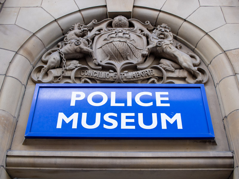 The Greater Manchester Police Museum in the Northern Quarter, Manchester, UK