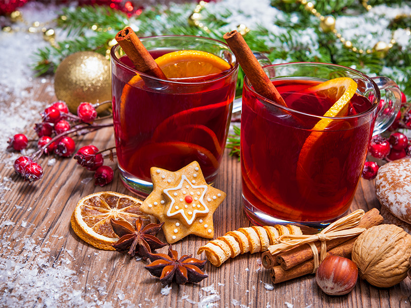 Nothing quite says Christmas like the spiced aroma of mulled wine. Here's a delicious and easy recipe to make your own.