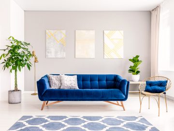 If you're thinking of updating your home decor, here are some simple ways to add an arty touch to your home.
