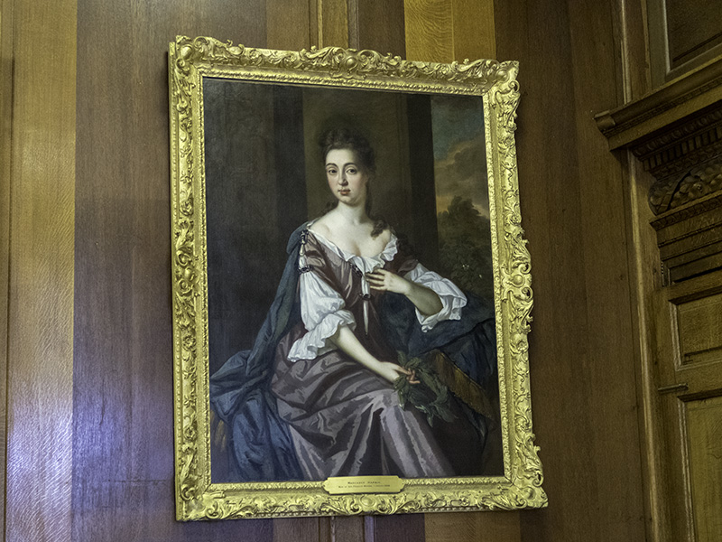 A portrait of Margaret Warre which hangs at Hestercombe House, near Taunton in Somerset (UK)